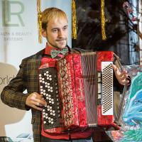 Выступление музыканта Алексея Горяйнова